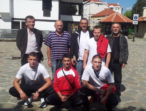 Tim BK Feniks iz Bora na sparing turniru u Leskovcu / foto: Live SPORT