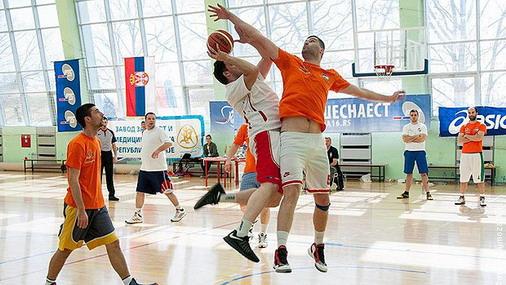 """Memorijalni turnir """"Igrajmo za 16"""" u basketu """"3 na 3"""" / foto: RTS"""