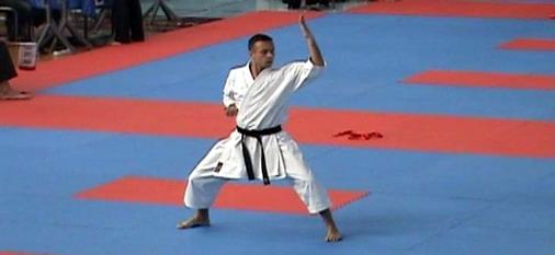 Dalibor Džunić na jednom od ranijih takmičenja