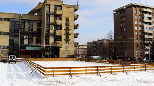 Klizalište ispred Doma kulture u Boru / foto: D.Popaz (Arhiva)