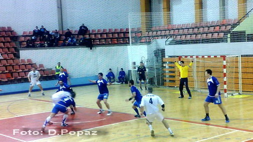 Detalj sa utakmice ORK Bor - RK Jastrebac