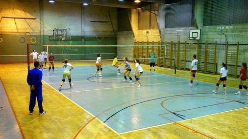 Detalj sa jedne od ranije odigranih utakmica odbojkašica Bora / Foto: SPC Bor