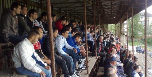 Publika na stadionu OFK Bor