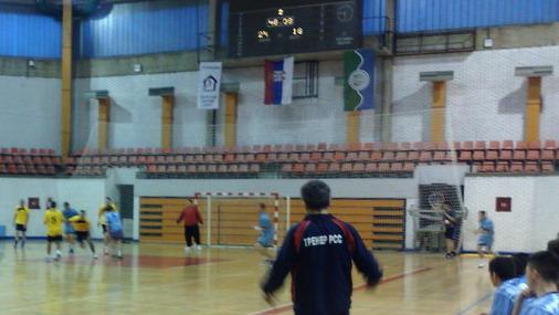 Detalj sa današnje utakmice RK Bor 2 – Radnički / Foto: D.Popaz