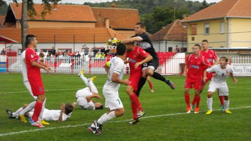 Detalj sa utakmice u Petrovcu / foto: I.Jovanović