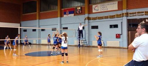 Detalj utakmice iz Leskovca / foto: Live SPORT