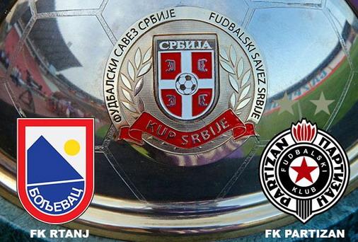 Rtanj (Boljevac) vs Partizan (Beograd) 1/16 finala Kupa / foto: Istočne VESTI