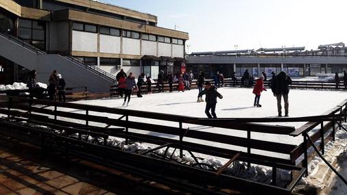 Detalj sa klizališta u Boru / foto: JU SPC
