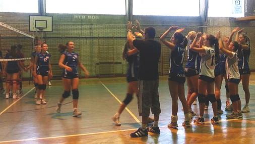 Detalj sa jedne od ranije odigranih utakmica odbojkašica Bora / foto: Live SPORT
