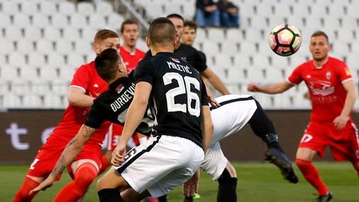 Makazice Đurđevića / foto: FK Partizan