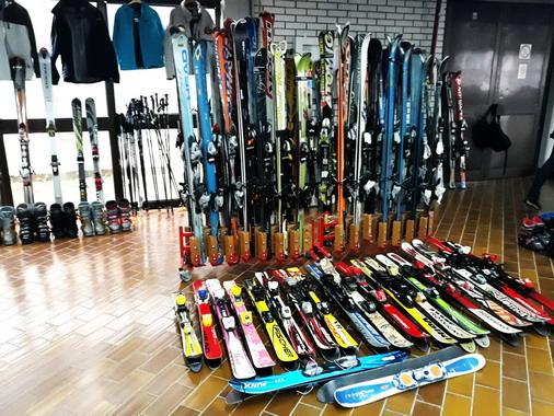 Detalj sa Sajma razmene ski-opreme / foto: SPC Bor