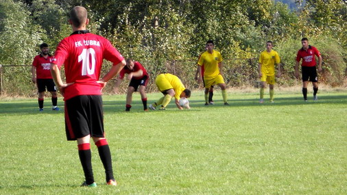 Detalj sa utakmice Slatina-Čubra / foto: D.Popaz