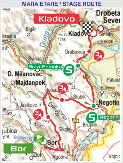Mapa etape