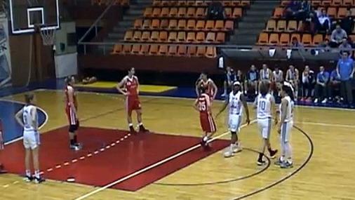 Detalj sa utakmice / foto: Košarka24